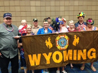 Wyoming Crew at VFW National Convention, New Orleans, LA. July 2017