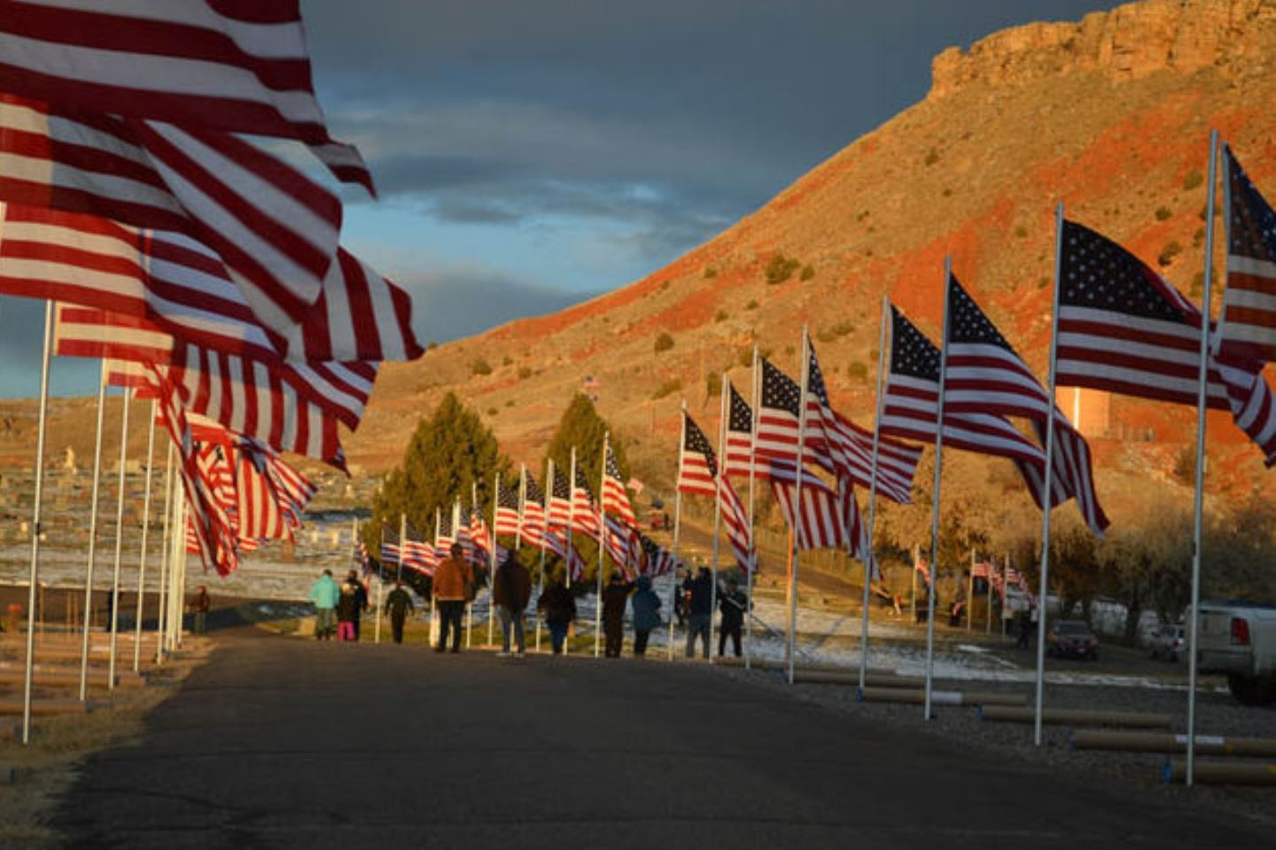 Veterans Day 2017, Thermopolis, WY